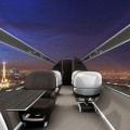 How to travel when you're mega rich and super busy - futuristic transparent business jet
