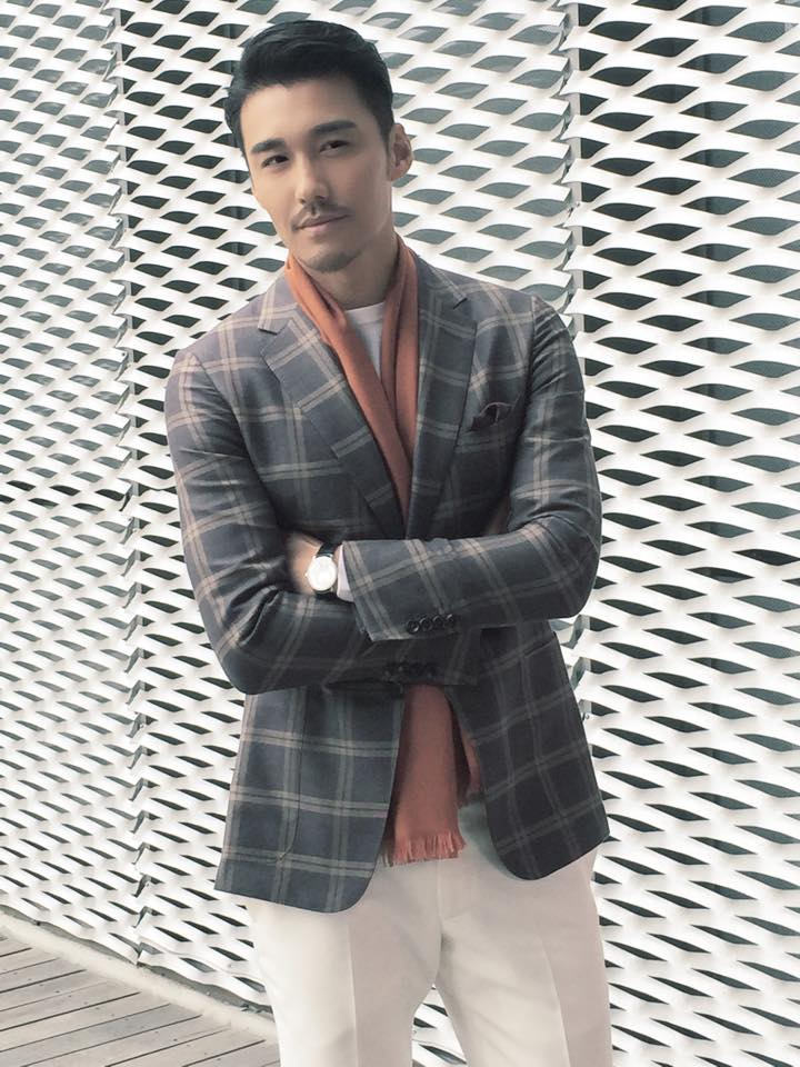 Hu Bing Appointed As London fashion week First International Menswear Ambassador