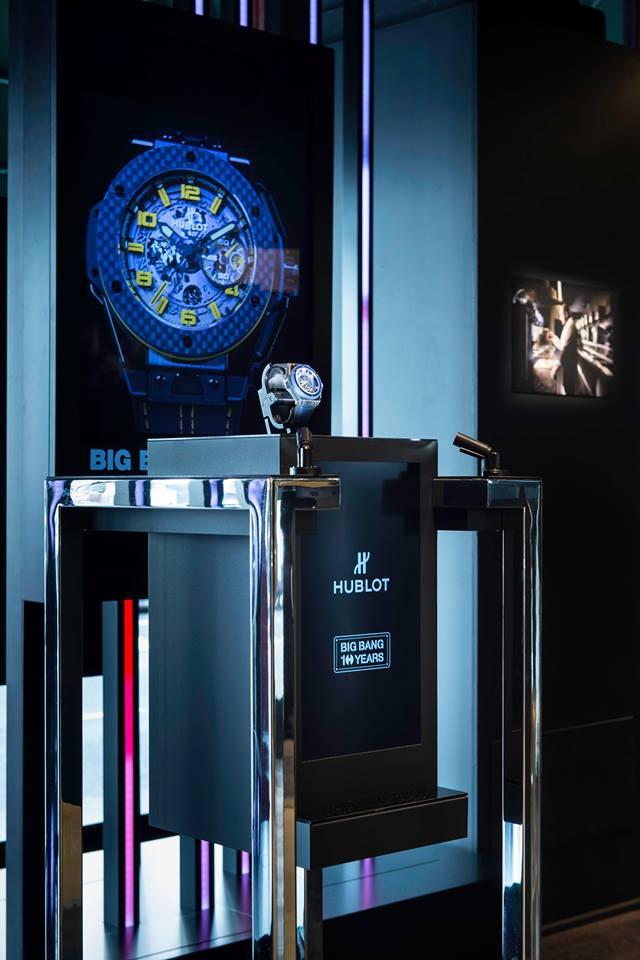 Hublot 2015 Harrods exhibition 10yearsBigBang