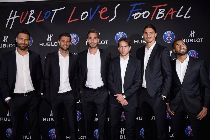 Hublot And Paris Saint-Germain Score Atop Rockefeller Center
