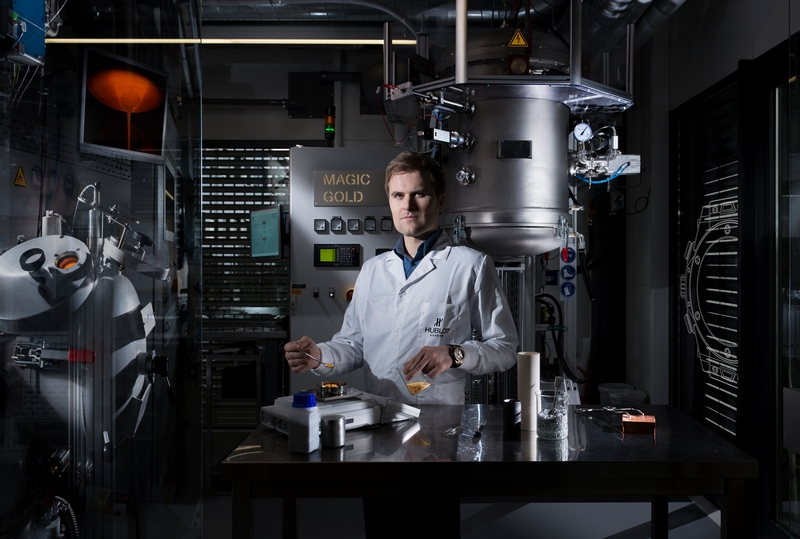 Hublot Big Bang Magic Gold Laboratory