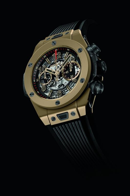 Hublot Big Bang Magic Gold watch - Baselworld 2015 Preview - Hublot Big Bang Unico Full Magic Gold