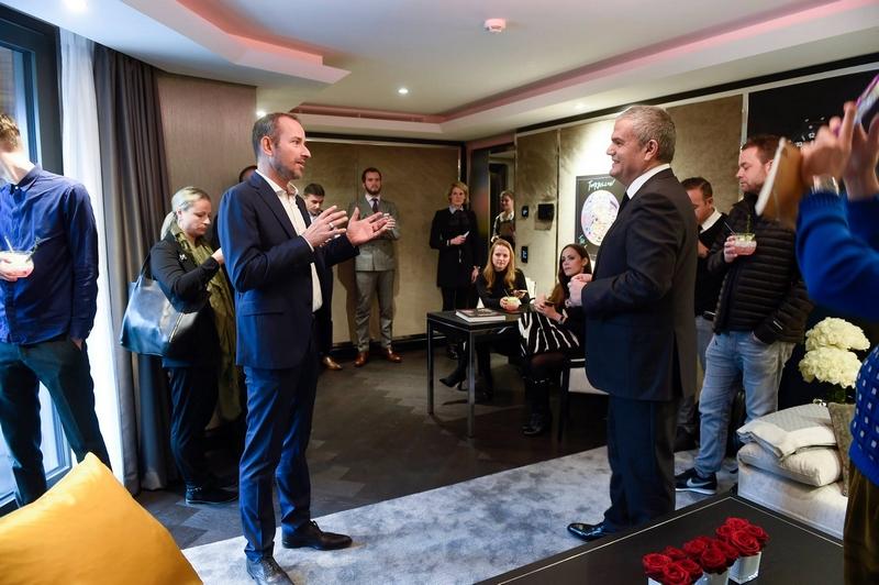 Hublot Suite opens at Zurich's Atlantis Hotel 2015-opening
