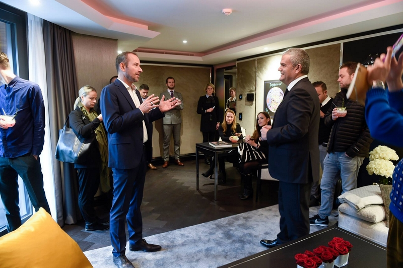 Hublot Suite opens at Zurich's Atlantis Hotel 2015-opening