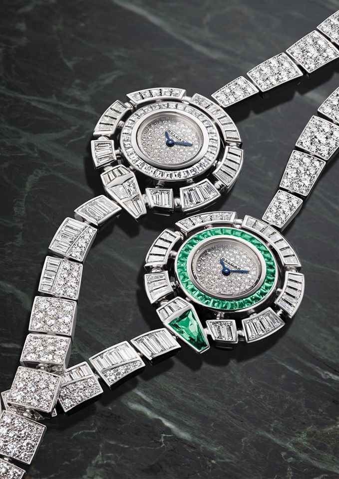 Hypnotic and masterfully crafted, Bulgari High Jewellery timepieces