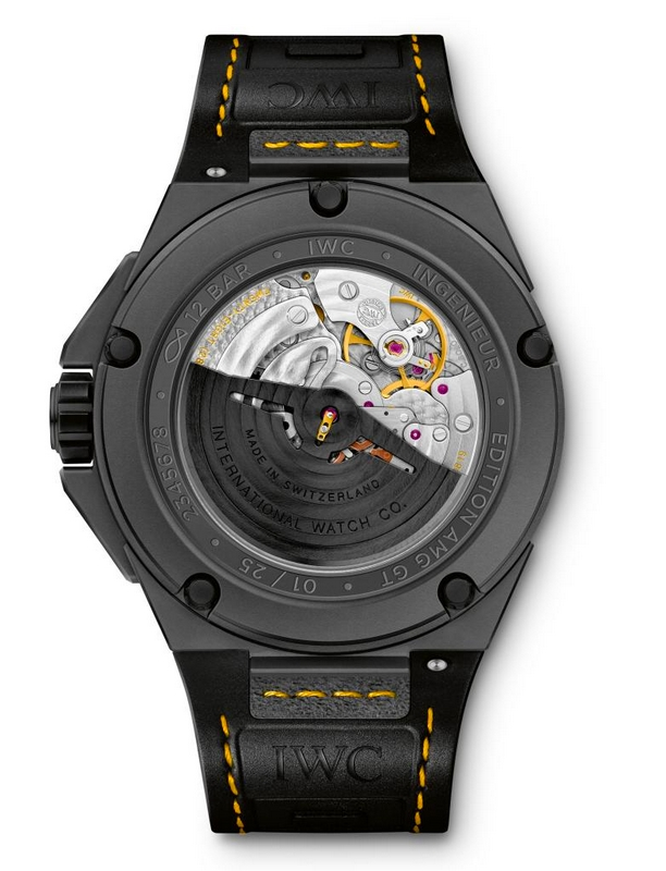 IWC AMG  - Ingenieur Automatic Edition AMG GT watch  - World Premiere at Goodwood Members Meeting 2015-the world's first watch