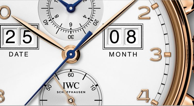 IWC Portugieser Perpetual Calendar Date-Month Edition 75th Anniversary--