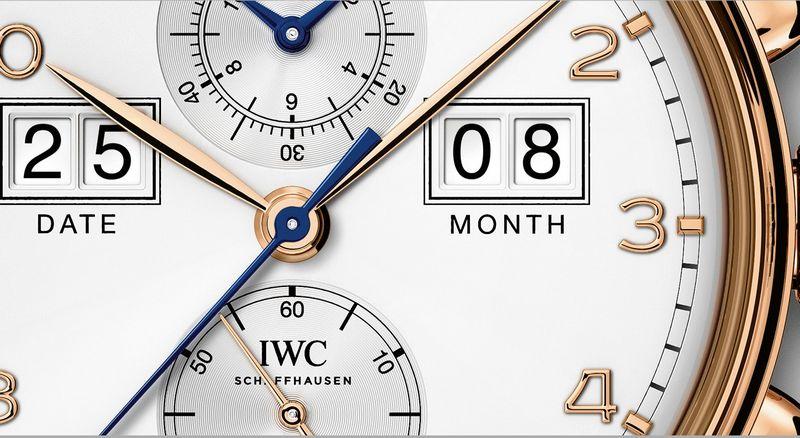 IWC Portugieser Perpetual Calendar Date-Month Edition 75th Anniversary--