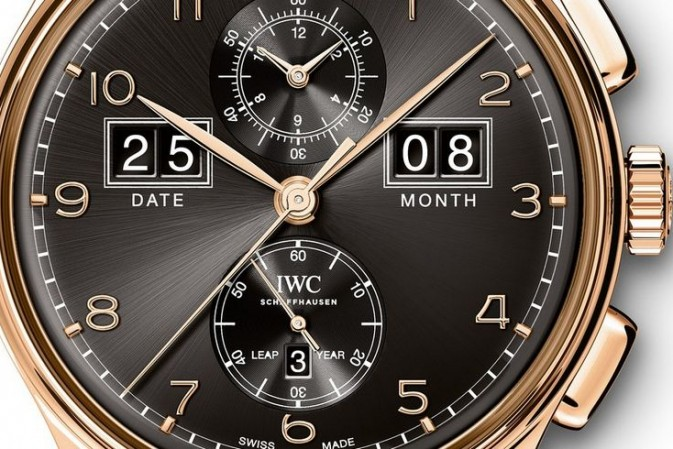 IWCPortugieser Perpetual Calendar Date-Month Edition 75th Anniversary