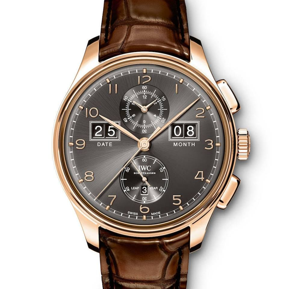 IWC Portugieser Perpetual Calendar Date-Month Edition 75th Anniversary