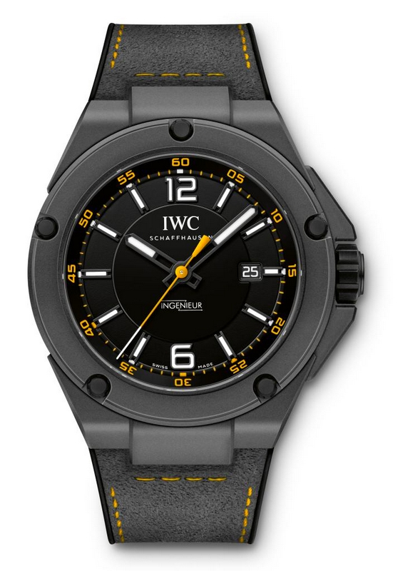 IWC Schaffhausen and Mercedes-AMG marked ten years of their partnership by