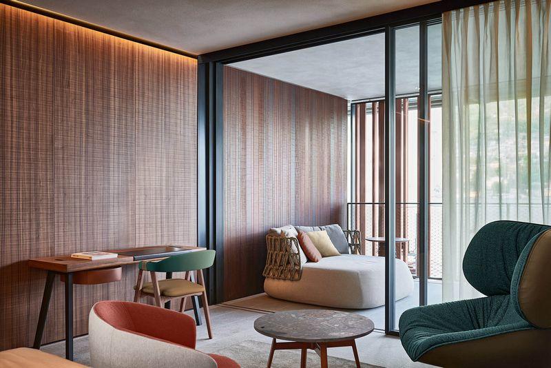 Il Sereno Lago di Como hotel spaces-Lake Como's Newest Hotel Designed by Patricia Urquiola-