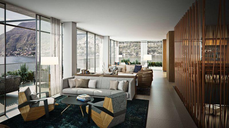 Il Sereno Lago di Como hotel spaces