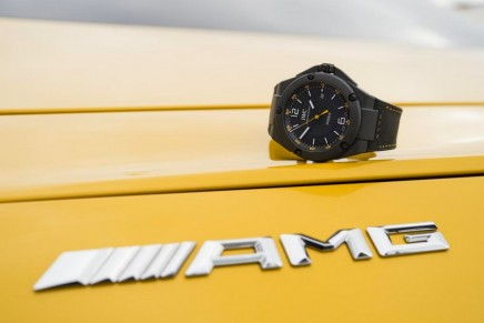 Ingenieur Automatic 'AMG GT' edition – the first boron carbide watch