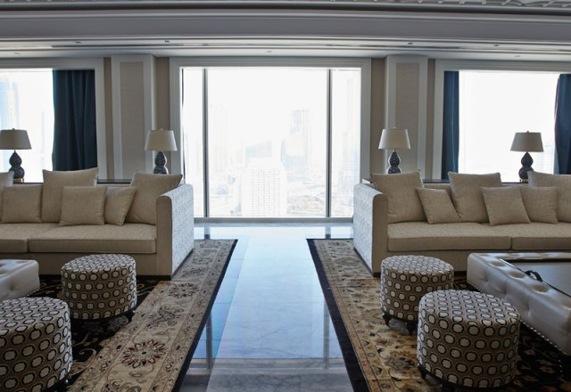 Inside the Presidential Suite at Taj Dubai