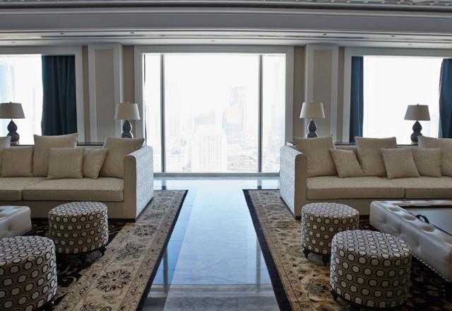 Inside the Presidential Suite at Taj Dubai