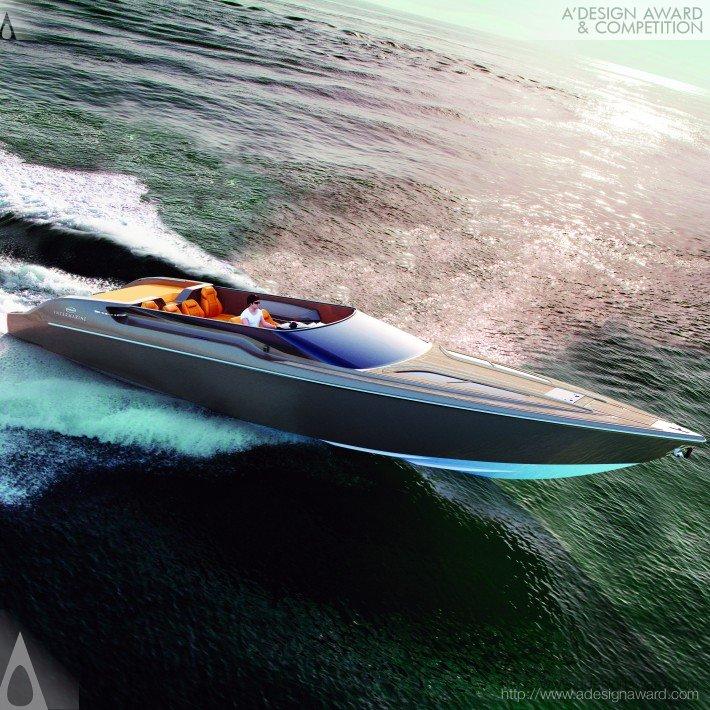 Intermarine 48 Offshore by Viviane Nicoletti high speed boat-