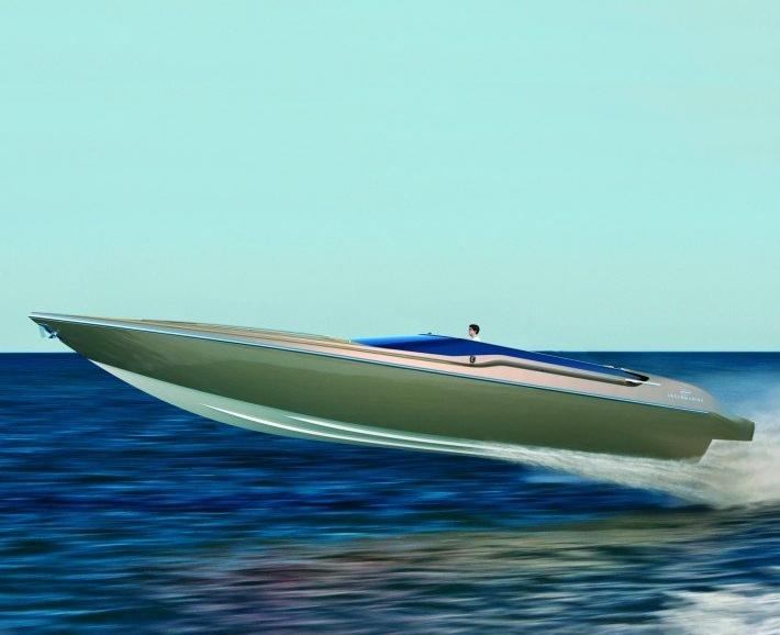 Intermarine 48 Offshore by Viviane Nicoletti high speed boat