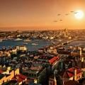 Istambul at sunset