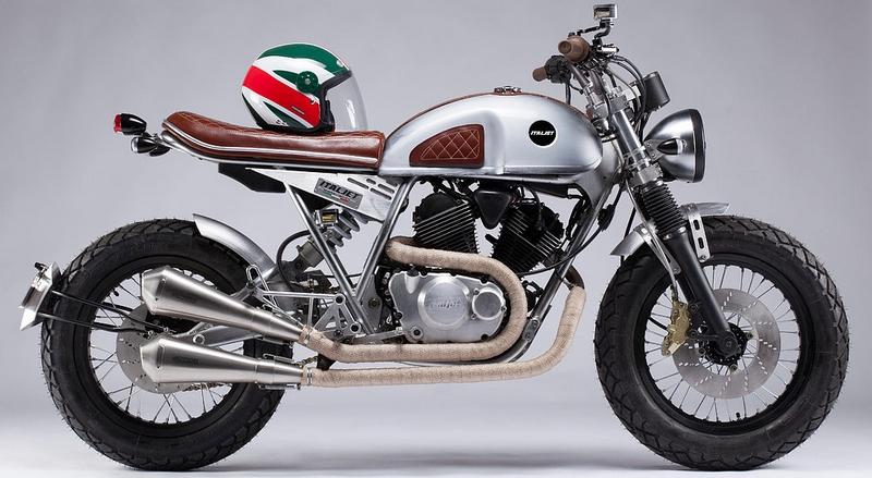 ItalJet Scrambler motorcycles 2015-2016 model