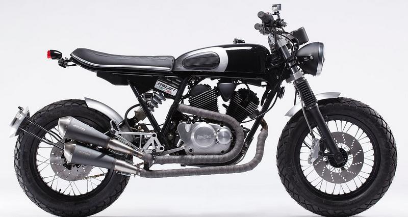 ItalJet Scrambler motorcycles 2015-2016 models - black