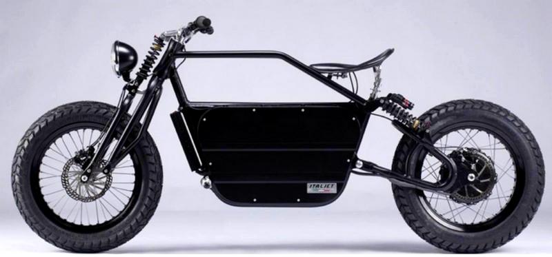 Italjet Bulldozer electric bike