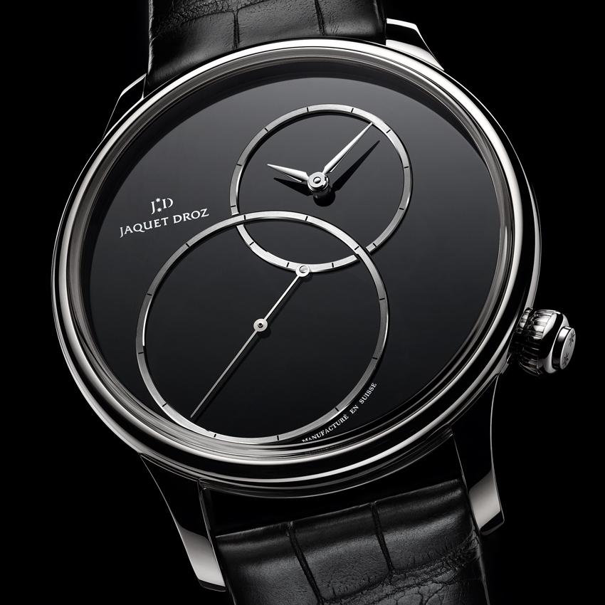 JAQUET DROZ Grande Seconde Off-Centered Onyx watch