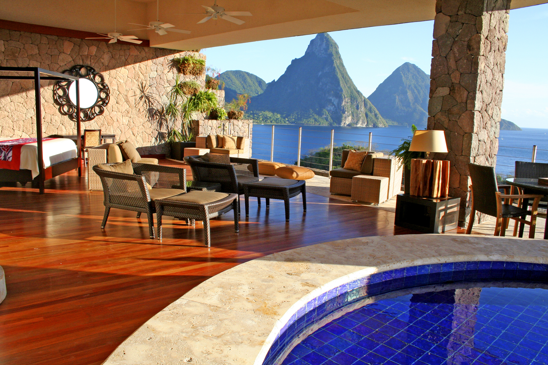 Jade Mountain Resort St Lucia2luxury2 Com