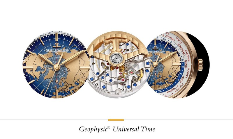 Jaeger-LeCoultre The Geophysic New Collection - Universal Time watch