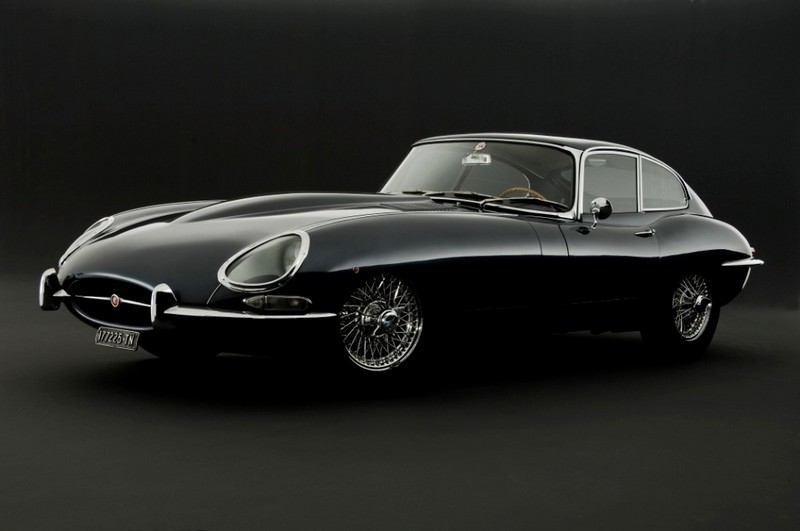 Jaguar E-type car