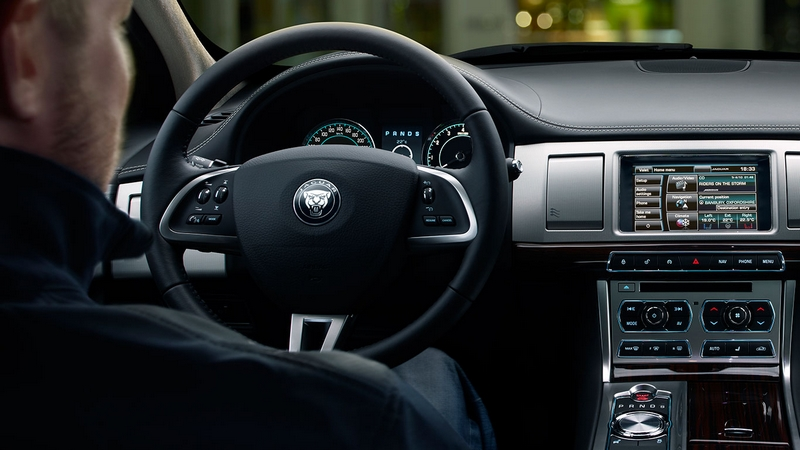 Jaguar XF 2015 model