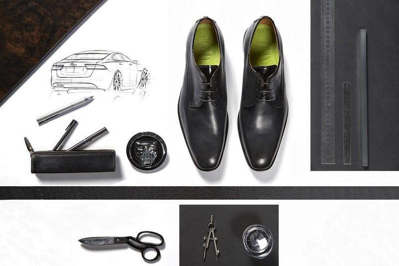 Jaguar x Oliver Sweeney shoes 2015-