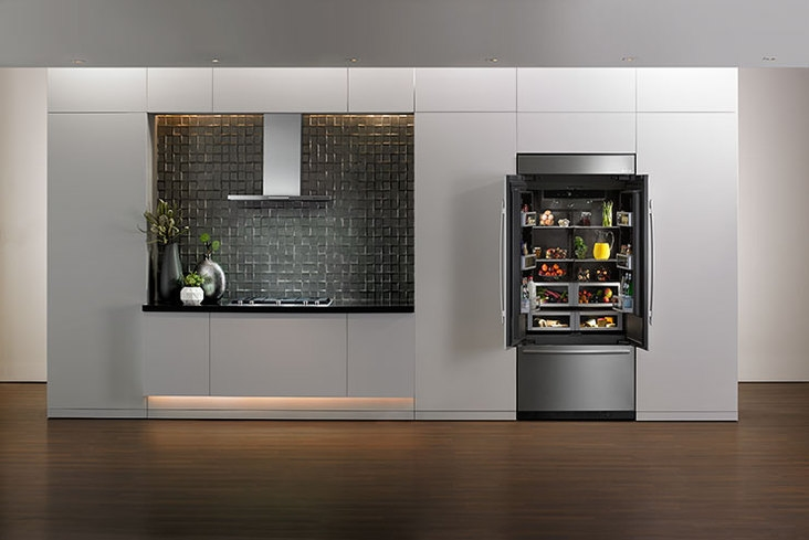 Luxury refrigerator design from the inside out 2luxury2 com for Obsidian interior refrigerator