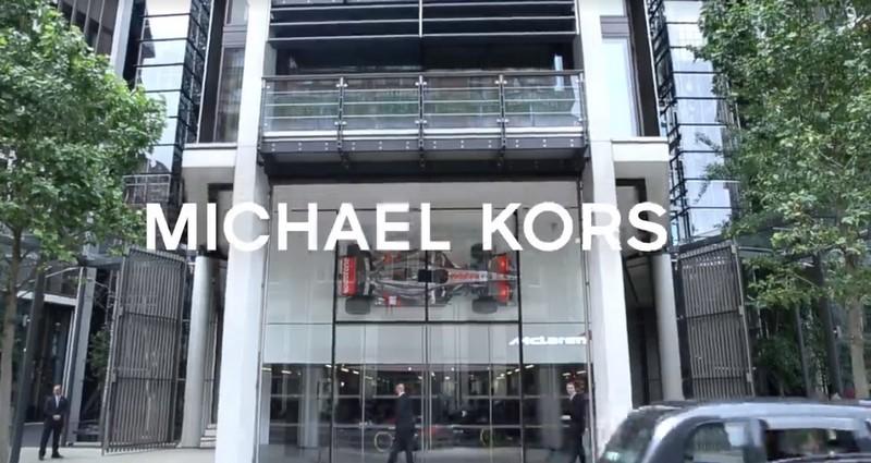 Jet-set lifestyle - Michael Kors x McLaren-Honda partnership 2luxury2 com--