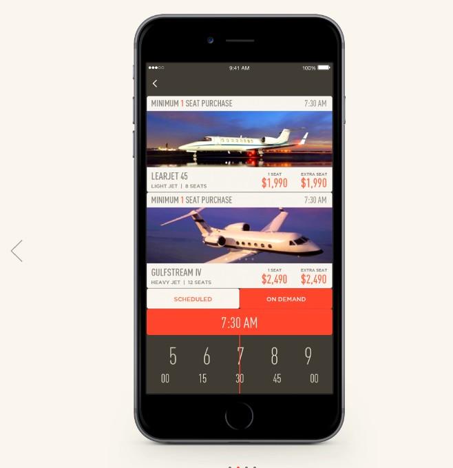JetSmarter2luxury2-com app-