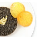 Joël Robuchon brings culinary savoir-faire to in-flight meals.  Caviar, scallops and duck