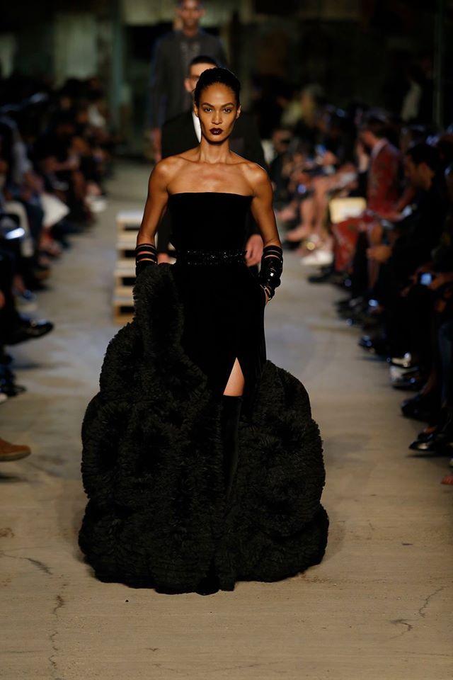 Joan Smalls for givenchy 2016