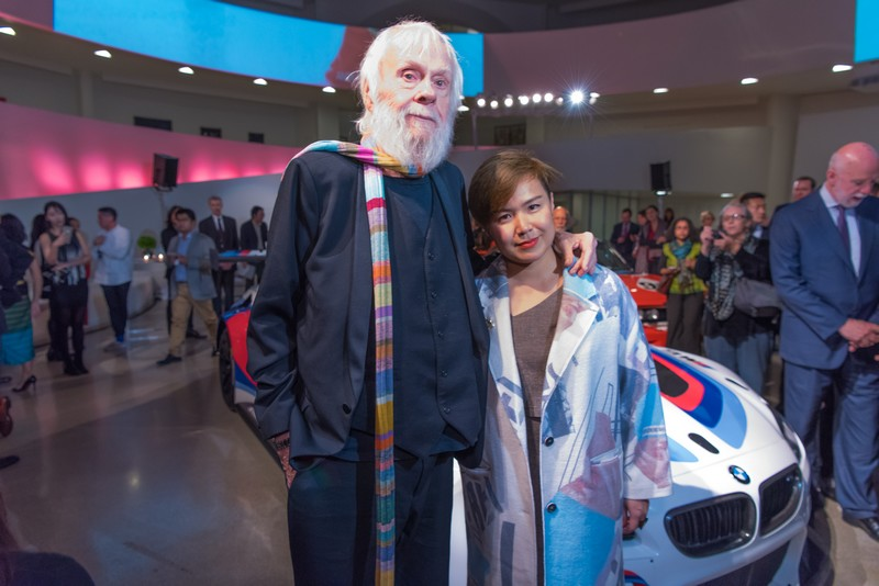 John Baldessari and Cao Fei are the new 2016 BMW Art Car artists