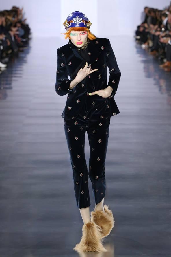 John Galliano's first Maison Margiela Womenswear Collection-2015-001