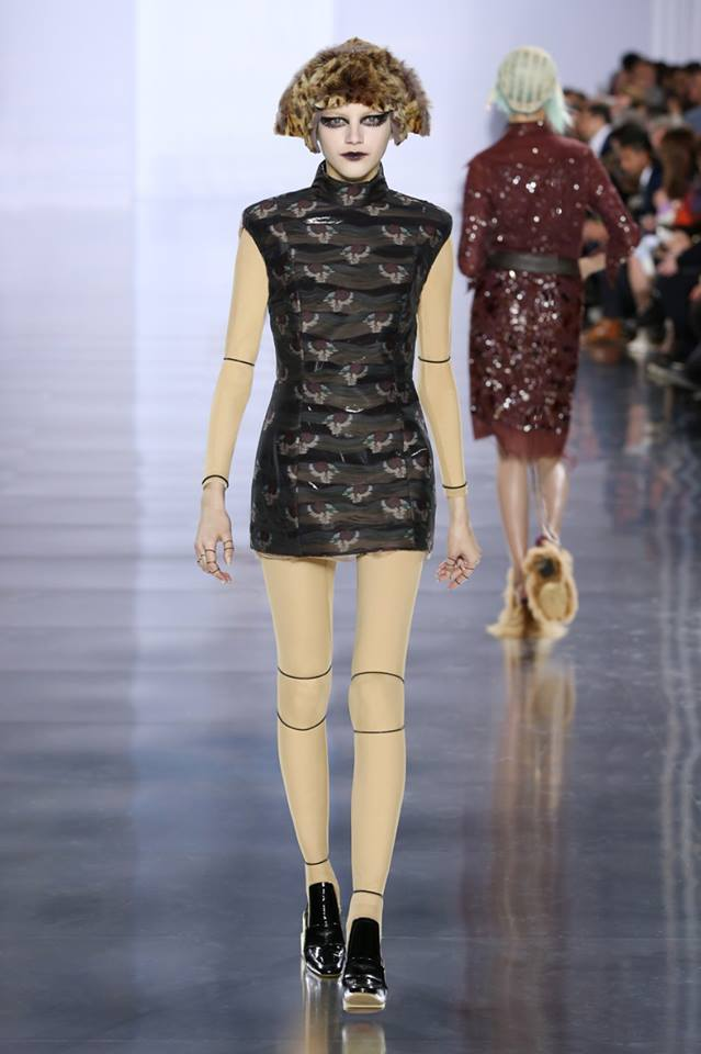 John Galliano's first Maison Margiela Womenswear Collection-2015