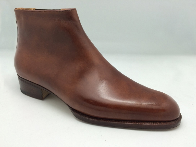 John Lobb bespoke atelier -  Whole Cut Low Top Boot