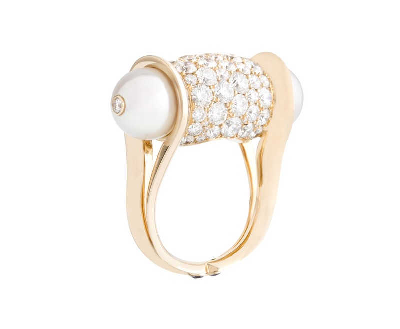 John Rubel - Ginger diamants ring