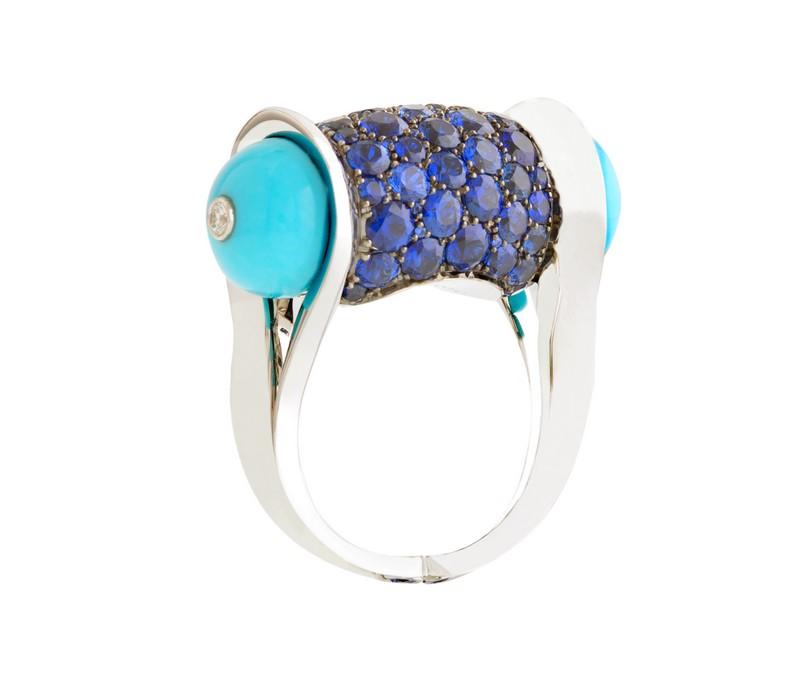 John Rubel - Ginger saphir ring