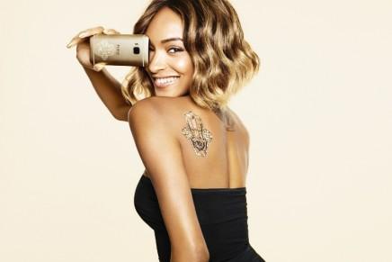 Jourdan Dunn's Limited Edition HTC One M9 INK