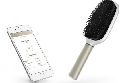 How well do you know your hair? What if a hairbrush could tell you the quality of your hair?