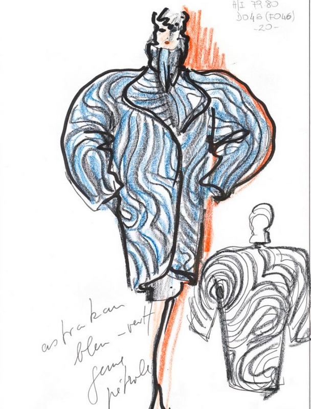 KARL LAGERFELD MODEMETHODE exhibition 2015 Bonn-sketches