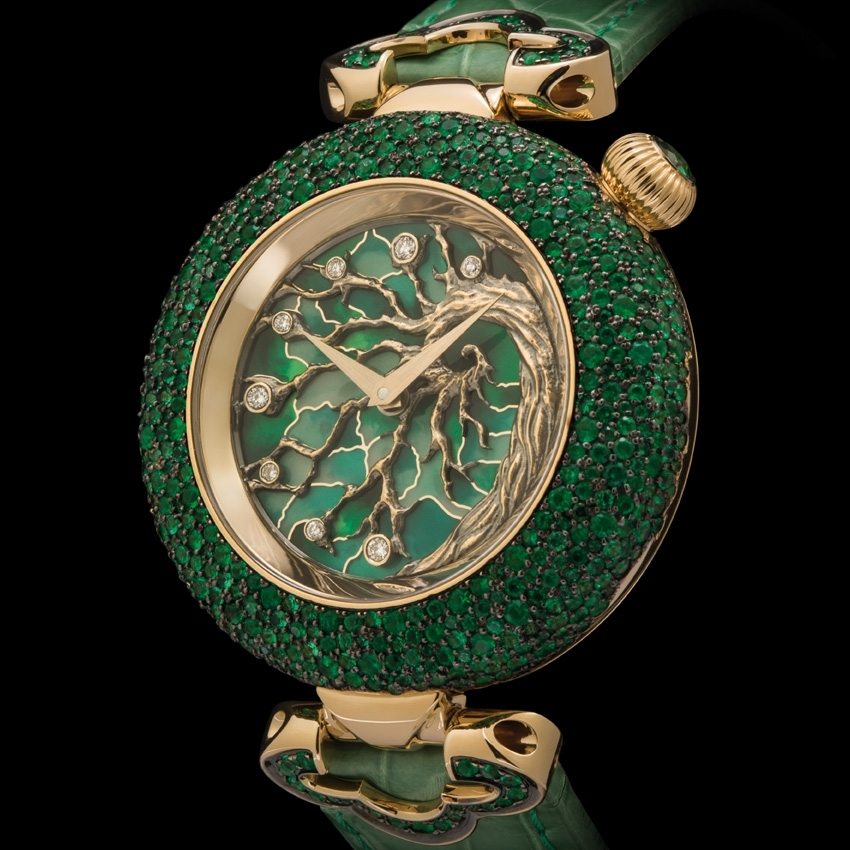 KERBEDANZ Tree of Life watch-