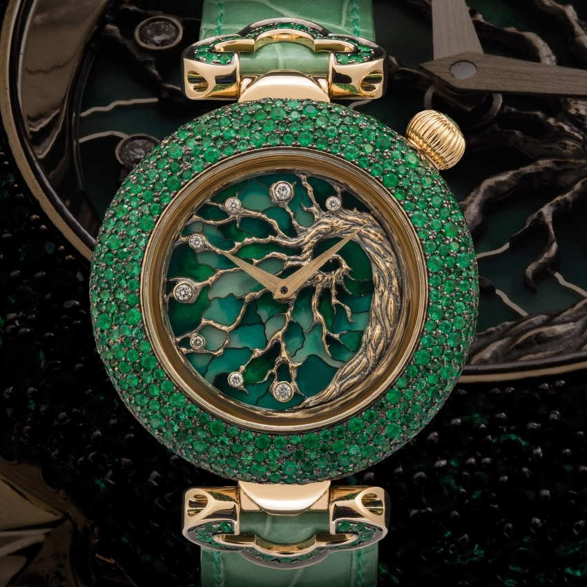 KERBEDANZ Tree of Life watch