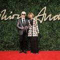Karl Lagerfeld & Anna Wintour OBE