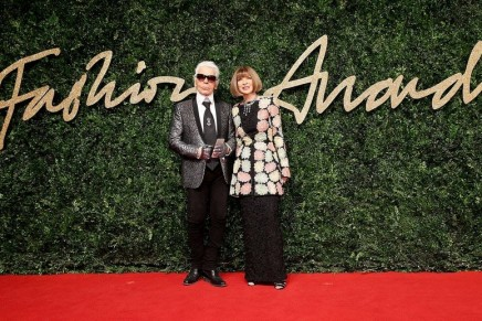 The stellar fashion designers honored at the 2015 British Fashion Awards